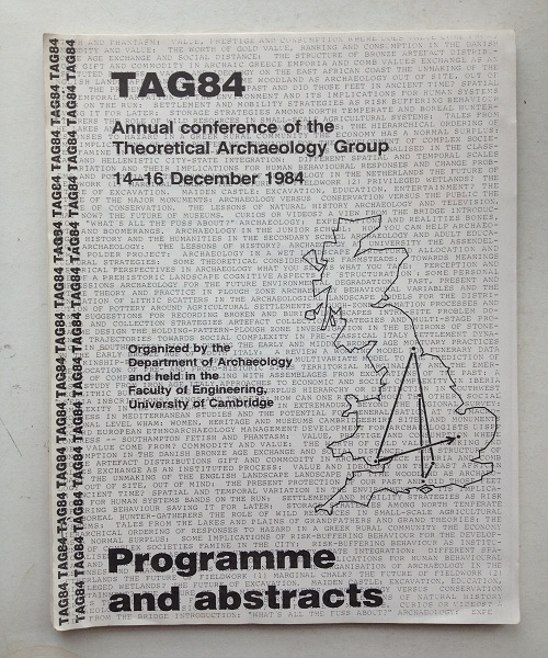 Image for Annual conference of the Theoretical Archaeology Group (TAG84), :14-16 December 1984