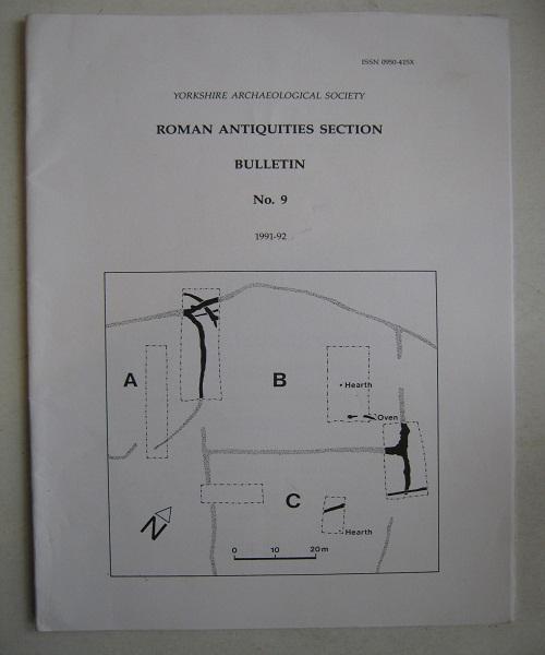 Roman Antiquities Section Bulletin No.9, 1991-92 :