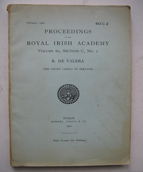 Image for Proceedings of the Royal Irish Academy :Volume 60, Section C, No. 2