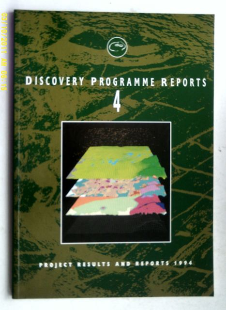 Image for Discovery Programme Reports : 4 :Project Results 1994