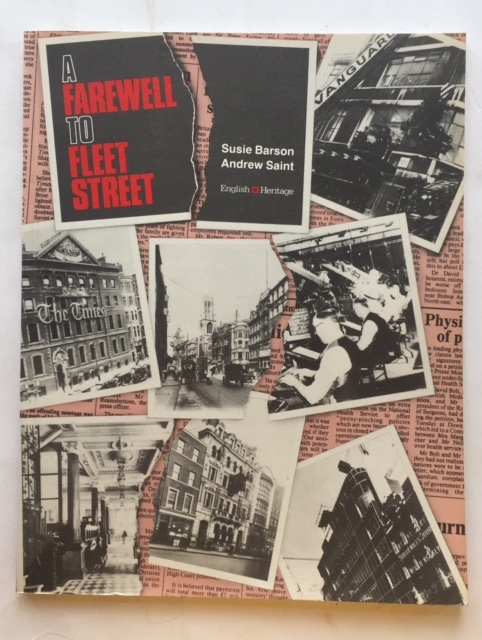 Image for A farewell to Fleet Street :