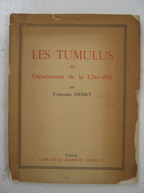 Image for Les Tumulus du Département de la Côte-d'Or :