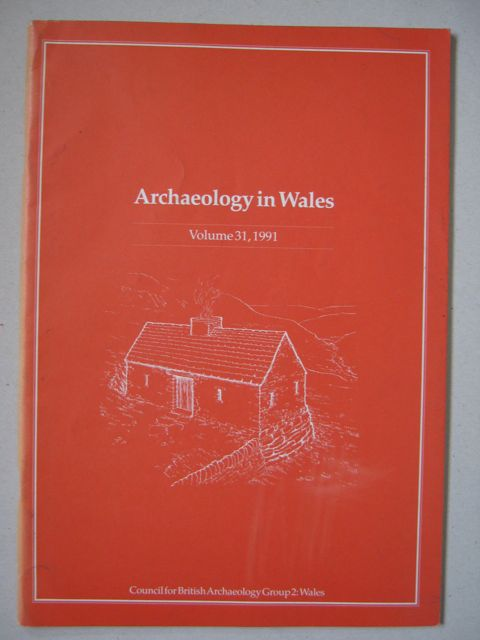Image for Archaeology in Wales :Cyfrol 31 Volume 1991