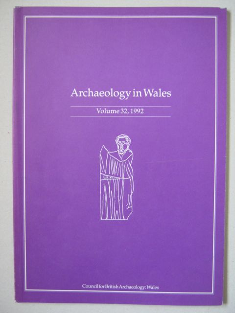 Image for Archaeology in Wales :Volume 32, 1992
