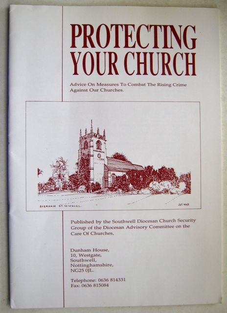 Image for Protecting your Church :Advice on Measures to Combat the Rising Crime Against our Churches
