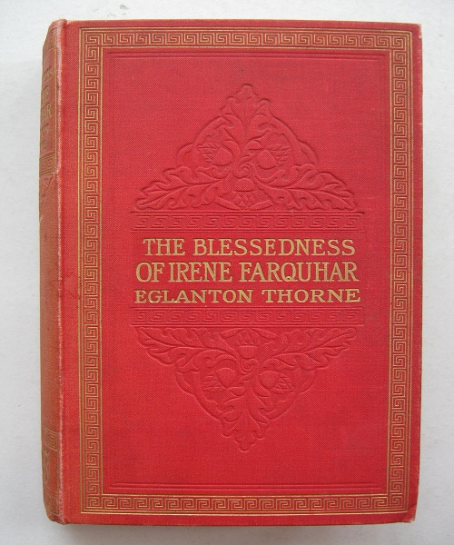 Image for The Blessedness of Irene Farquhar :
