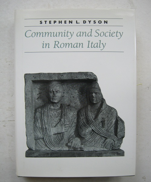 Image for Community and Society in Roman Italy :