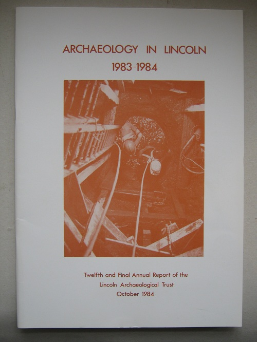 Image for Archaeology in Lincoln 1983-1984 :