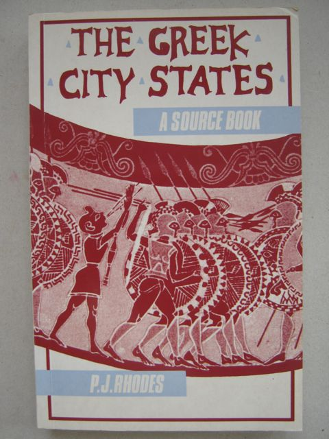 Image for The Greek city states :a source book
