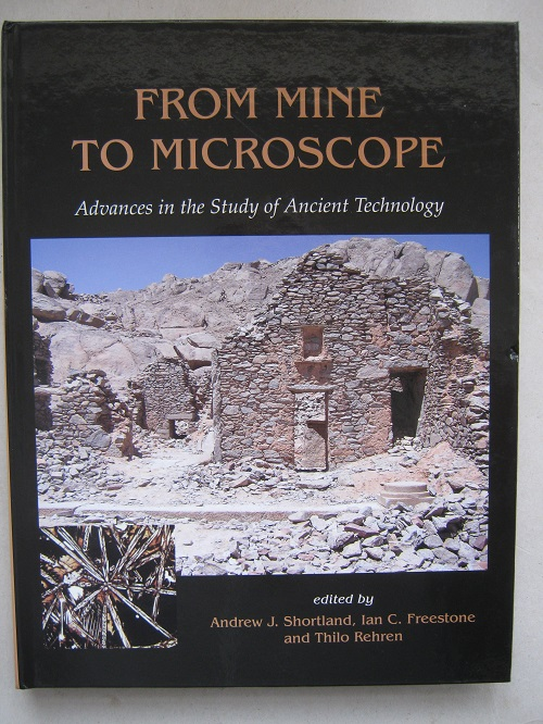 Image for From Mine to Microscope :Advances in the Study of Ancient Technology