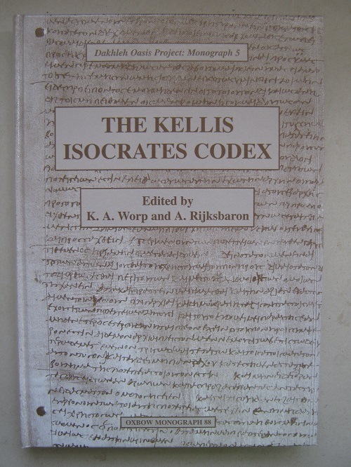 Image for The Kellis Isocrates Codex (P. Kell III Gr. 95) :