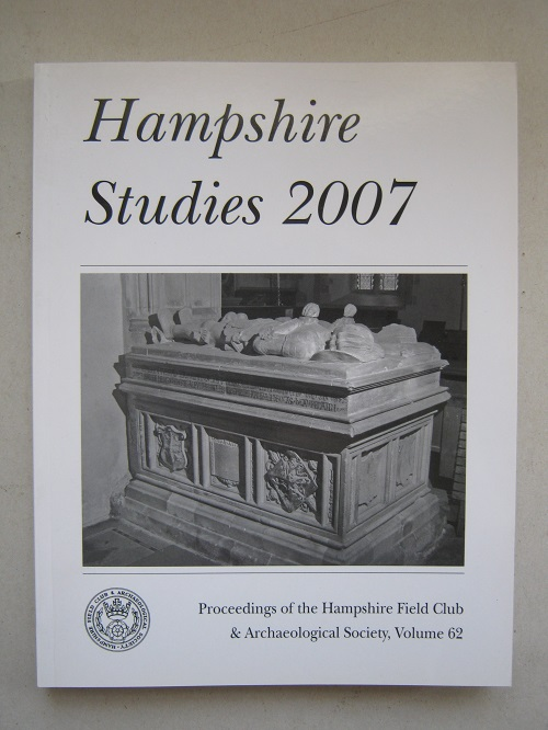 Image for Hampshire Studies 2007 :Proceedings of the Hampshire Field Club and Archaeological Society, Volume 62