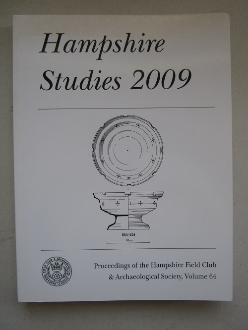 Image for Hampshire Studies 2009 :Proceedings of the Hampshire Field Club and Archaeological Society, Volume 64