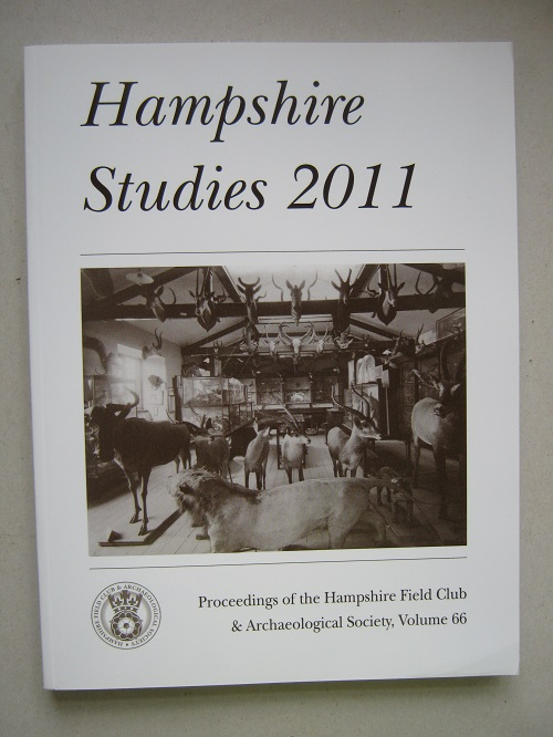 Image for Hampshire Studies 2011 :Proceedings of the Hampshire Field Club and Archaeological Society, Volume 66