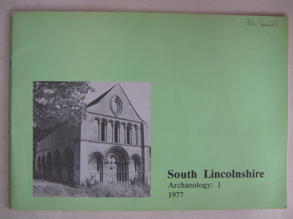 Image for South Lincolnshire :Archaeology: 1