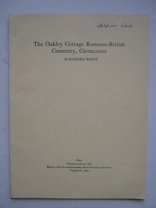 Image for The Oakley Cottage Romano-British Cemetery, Cirencester :