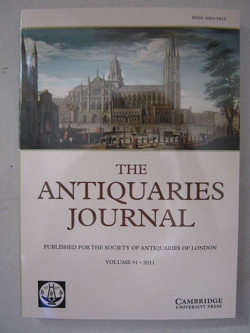 Image for The Antiquaries Journal :Being The Journal of the Society of Antiquaries of London, Vol. 91