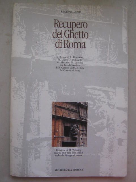 Image for Recupero del Ghetto di Roma :