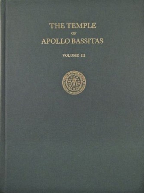 Image for The Temple of Apollo Bassitas :The Architecture (Illustrations): Vol. III
