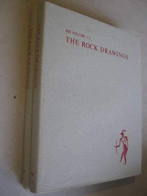 Image for The Rock Drawings :Vol. 1:1 - Text, Vol. 1:2 - Plates