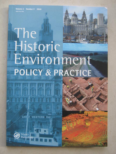 Image for The Historic Environment :Policy & Practice, Vol. 1, No. 2