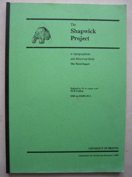 Image for The Shapwick Project :A Topographical & Historical Study, The Third Report