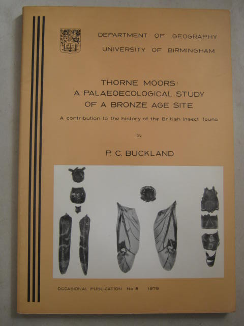 Image for Thorne Moors :A Palaeoecological Study of a Bronze Age Site
