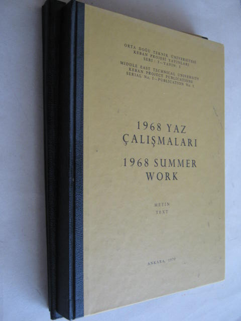 Image for 1968 Summer Work, Text & Illus :Serial No. I - Publication No. I