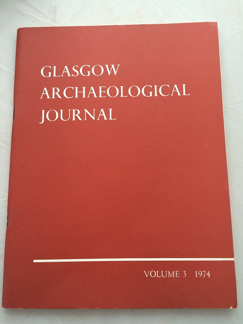 Image for Glasgow Archaeological Journal, Vol. 3 :