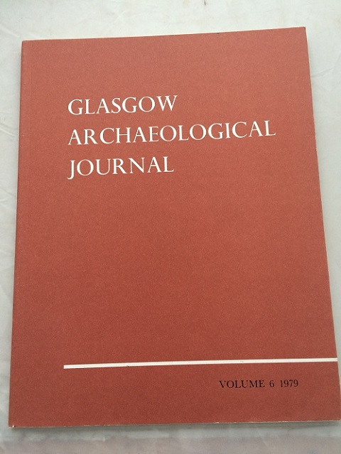 Image for Glasgow Archaeological Journal, Vol. 6 :