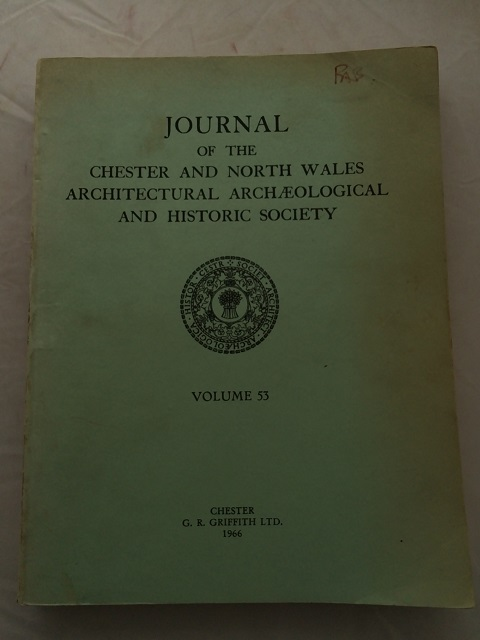 Journal of the Chester and North Wales Architectural Archaeological and Historic Society :Vol. 53
