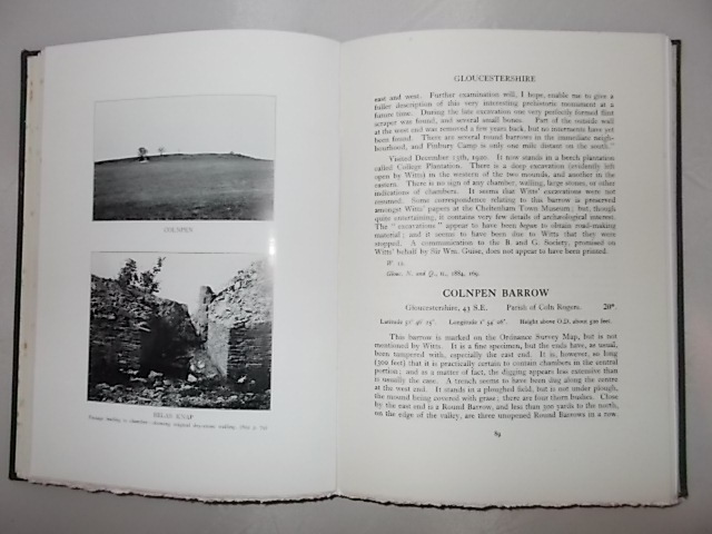 Image for The Long Barrows of the Cotswolds :A Description of Long Barrows, Stone Circles, and other megalithic remains in the area covered by Sheet 8 of the quarter-inch Ordnance Survey, comprising the Cotswolds and the Welsh Marches