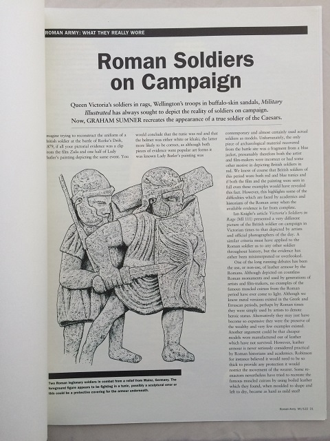 Image for Roman Soldiers on Campaign :