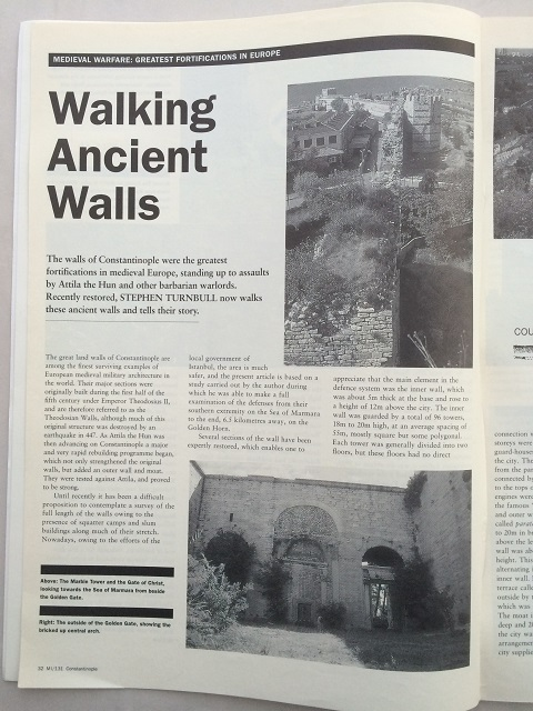 Image for Walking Ancient Walls :