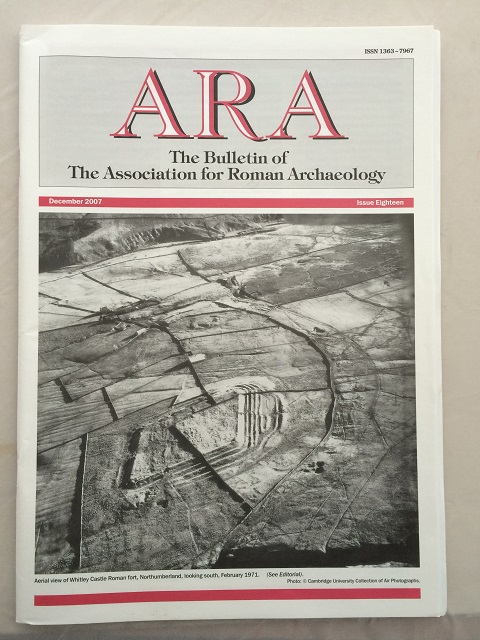 Image for ARA :The Bulletin of The Association for Roman Archaeology, Issue 18
