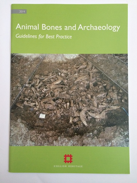 Image for Animal Bones and Archaeology :Guidelines for Best Practice