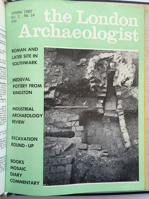 The London Archaeologist, Spring 1979, Vol. III, No. 14 :