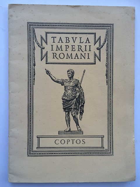 Image for Coptos: Tabula Imperii Romani :Map of the Roman Empire based on the International 1:1,000,000 map of the world sheet N.G. 36