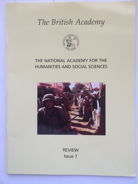 Image for The British Academy :The National Academy for the Humanities and Social Sciences, Review, Issue 7