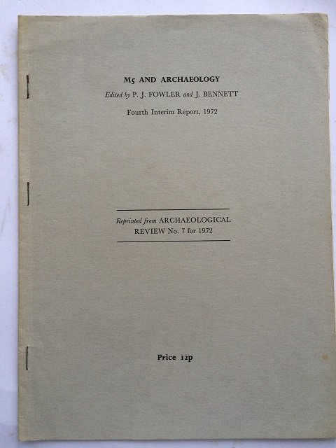 Image for M5 and Archaeology :Fourth Interim Report, 1972