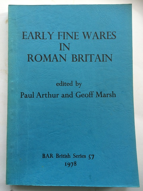 Image for Early Fine Wares in Roman Britain :