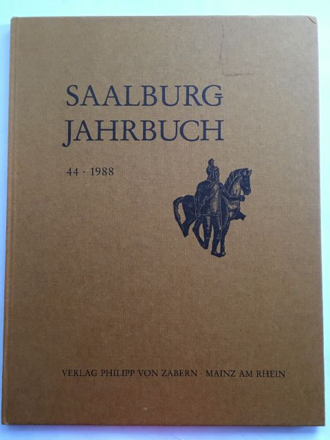 Image for Saalburg Jahrbuch 44 :