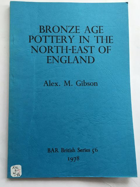 Image for Bronze Age Pottery in the North-East of England :