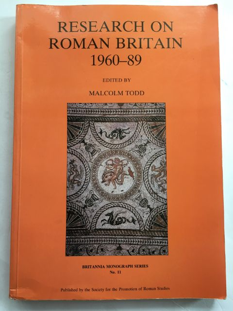 Image for Research on Roman Britain 1960-89 :(Britannia Monograph Series No. 11)