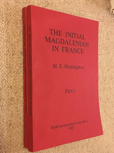 Image for The Initial Magdalenian in France, Part I & II :