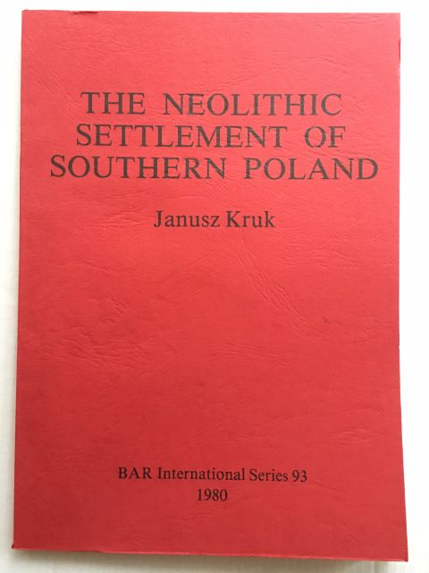 Image for THE NEOLITHIC SETTLEMENT OF SOUTHERN POLAND :