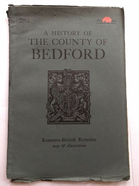 Image for A History of the County of Bedford :Part 5: Romano-British Remains