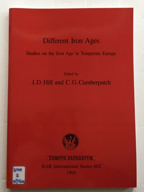 Image for Different Iron Ages :Studies on the Iron Age in Temperate Europe