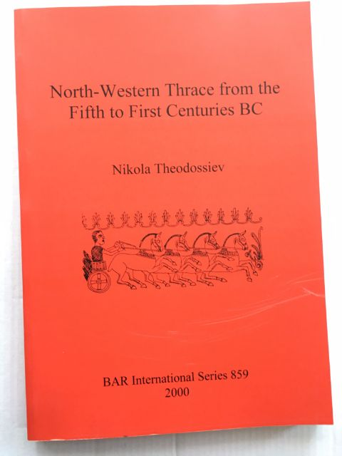 Image for North-Western Thrace from the Fifth to First Centuries BC :