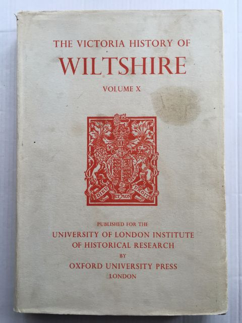 Image for A History of Wiltshire Volume X (Victoria County History) :